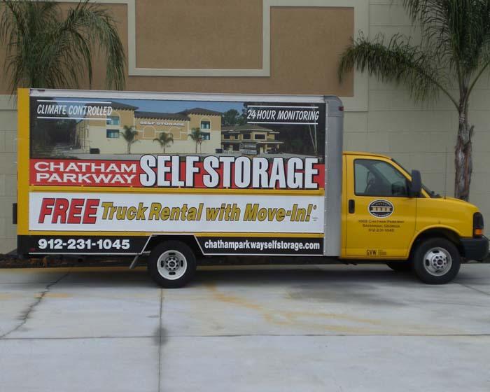Chatham Self Storage Van