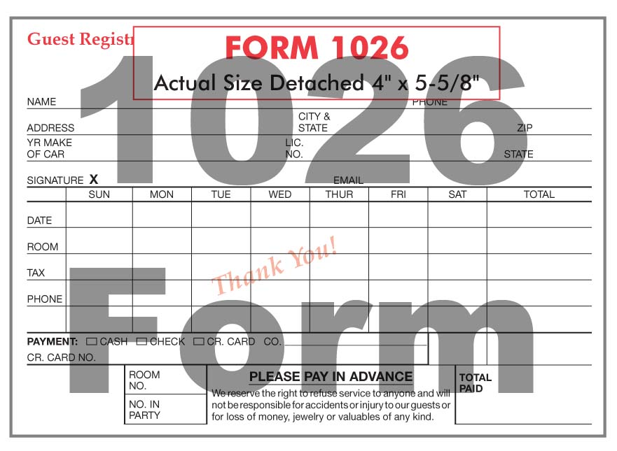 1026 Form
