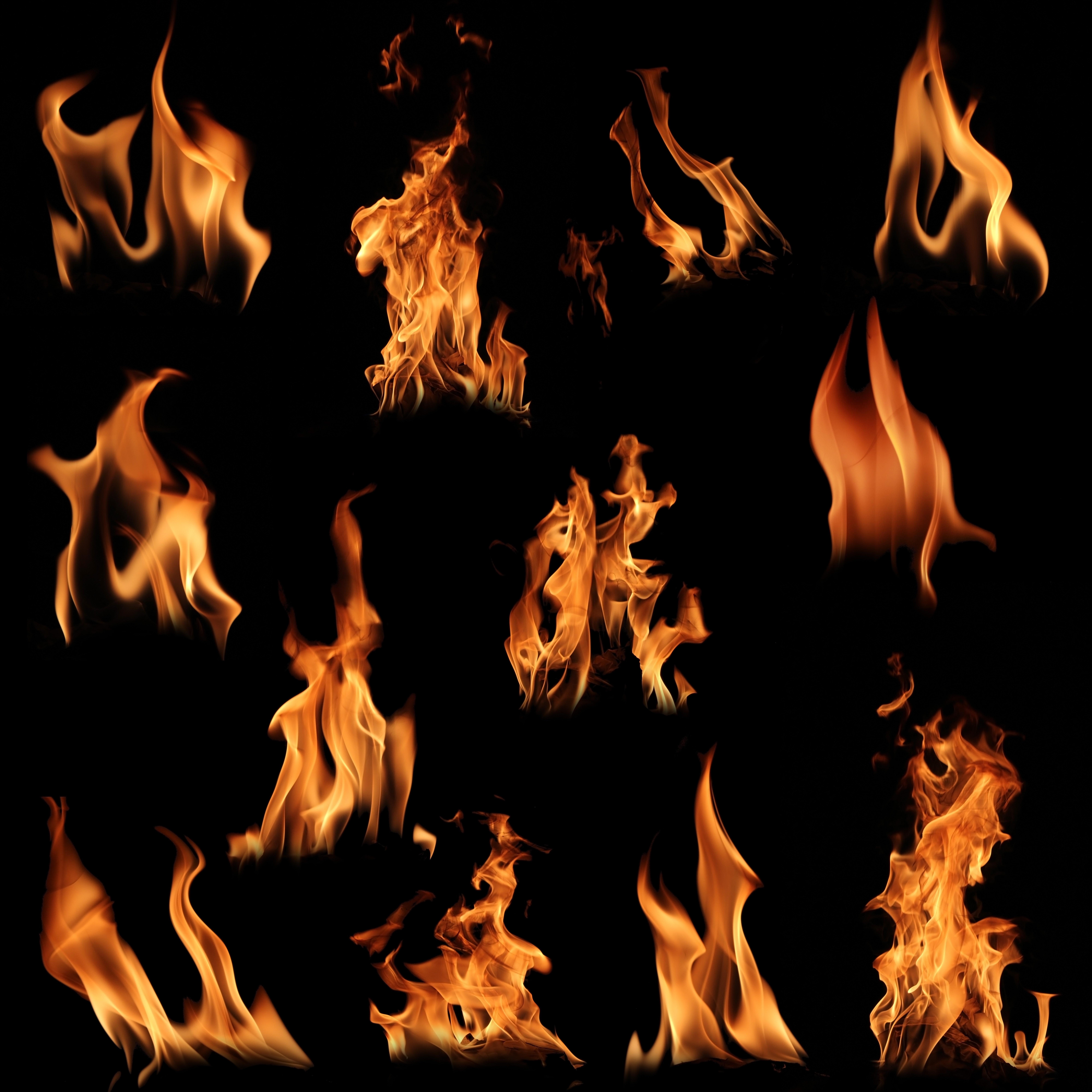 Flames Car Decals