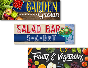 Salad Bar Sign