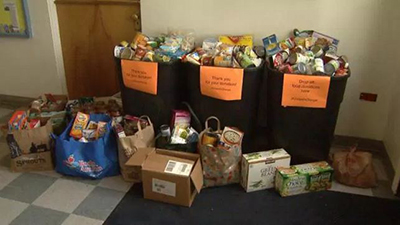 United In Orange Food Drive