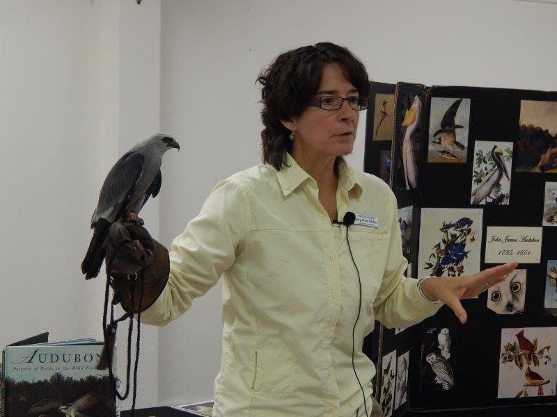 Raptor Talk at Taiwanese Heritage Society