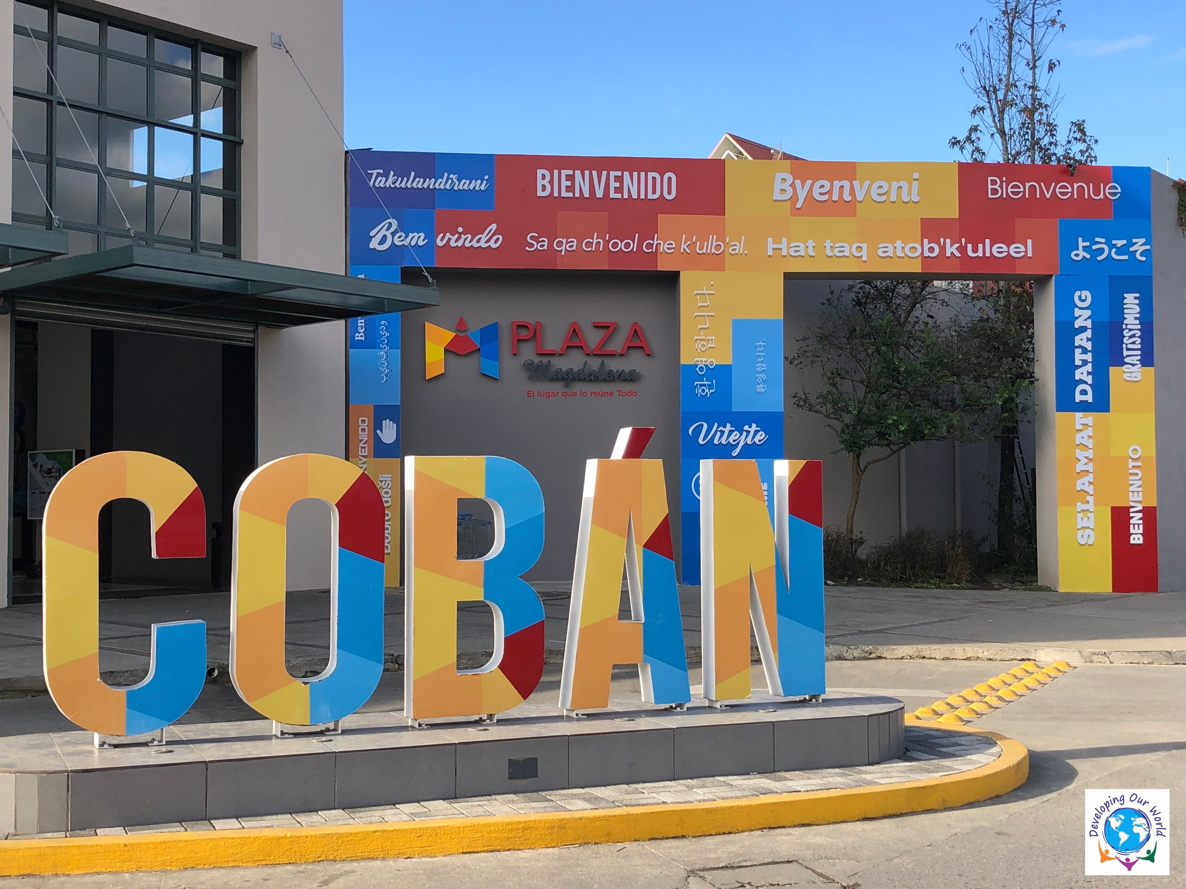 The Coban sign