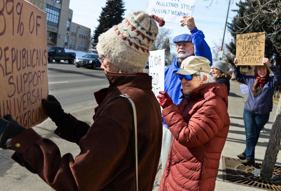 Group rallies against gun violence