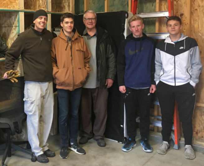 Eagle Scout Project Benefits Matt Talbot