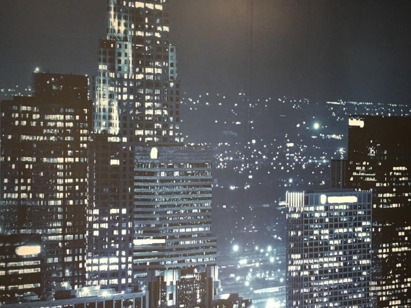 Custom cityscape wall murals Los Angeles