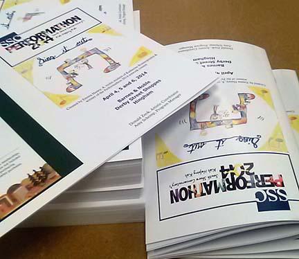 south shore program printing custom programs program design