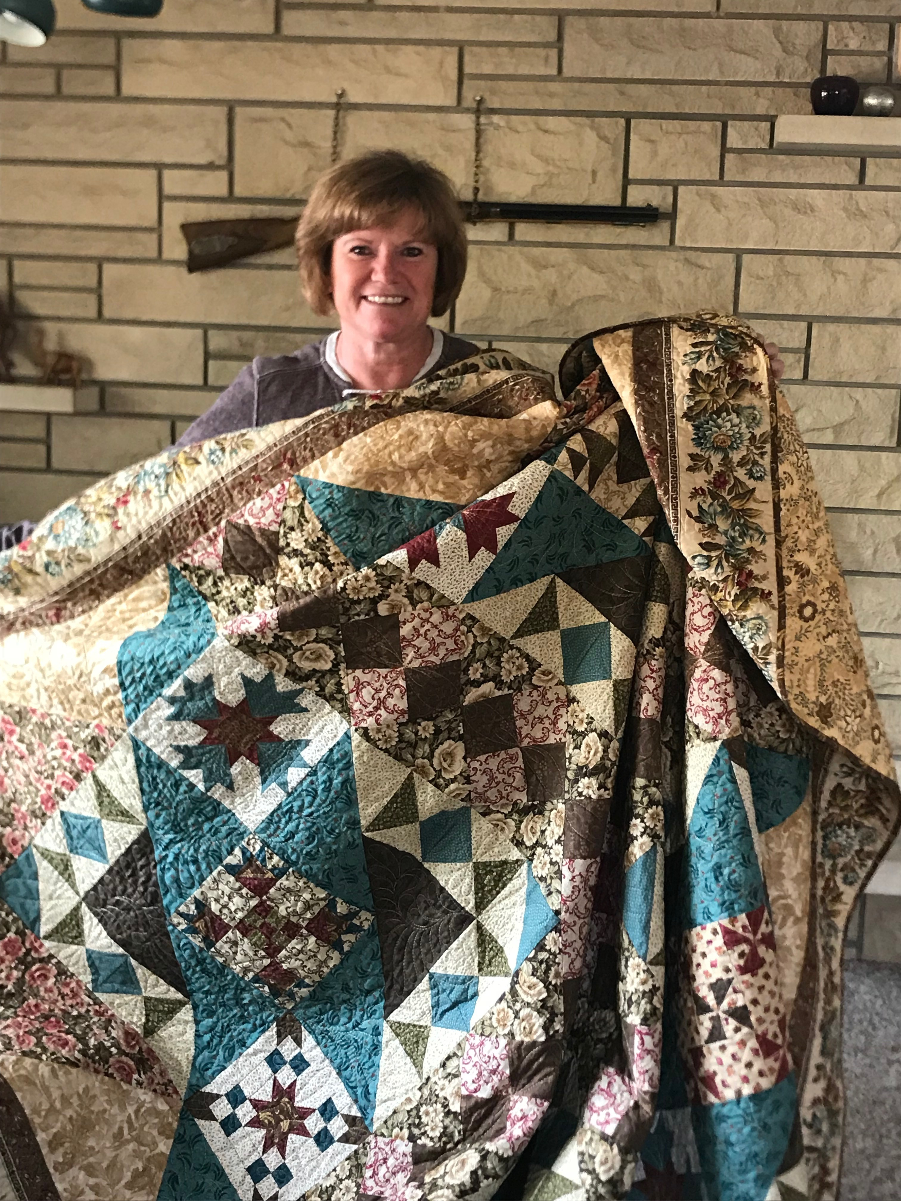 Women of Courage Quilt Winner