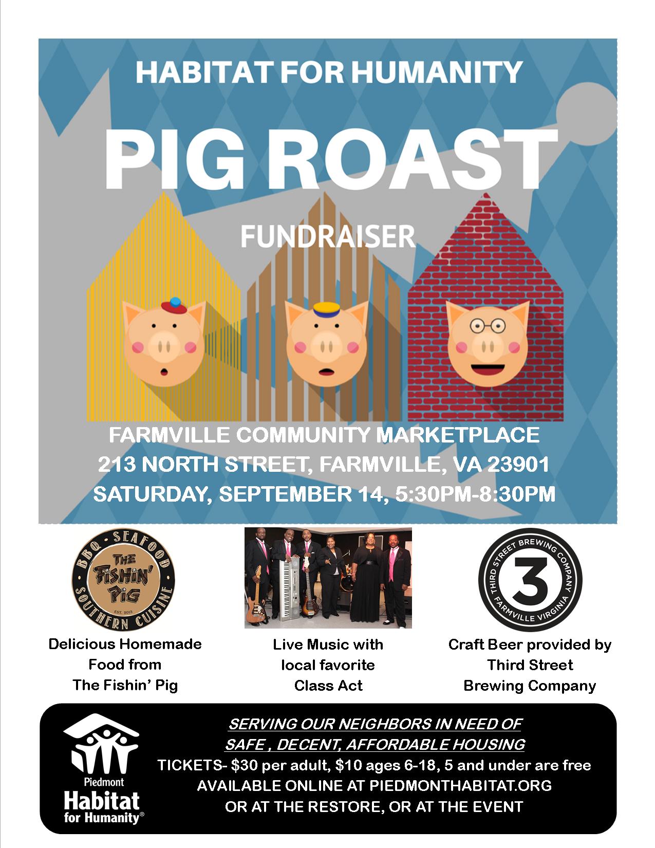 Pig Roast flyer