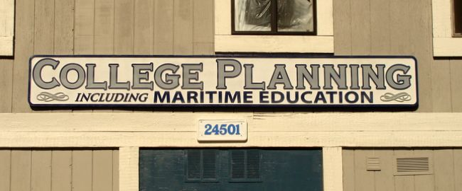 FA15592- College Planning Wall Sign