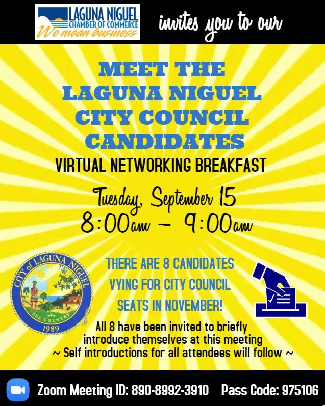 Meet The Candidates Networking Breakfast