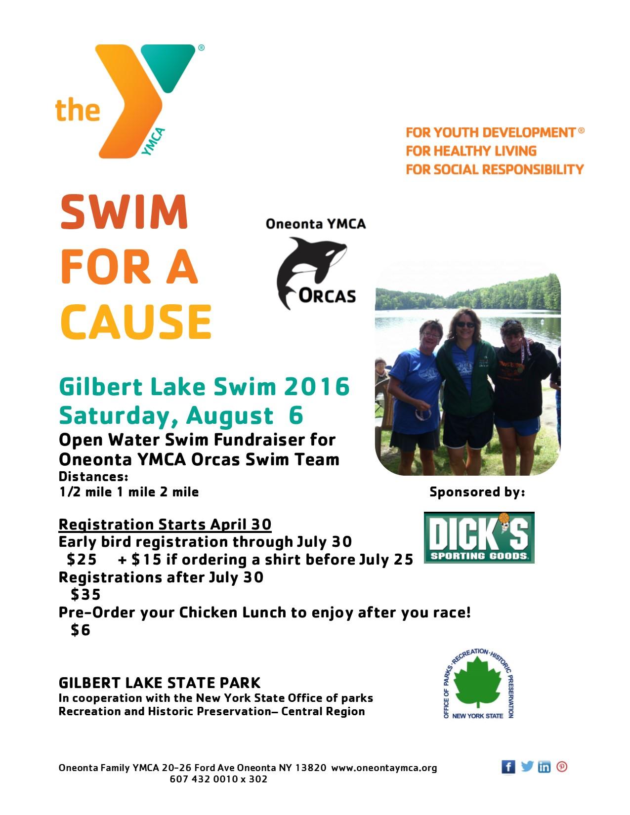 Gilbert Lake Swim