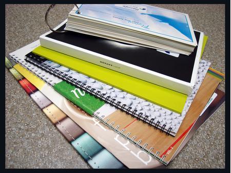 Various Book Bindings