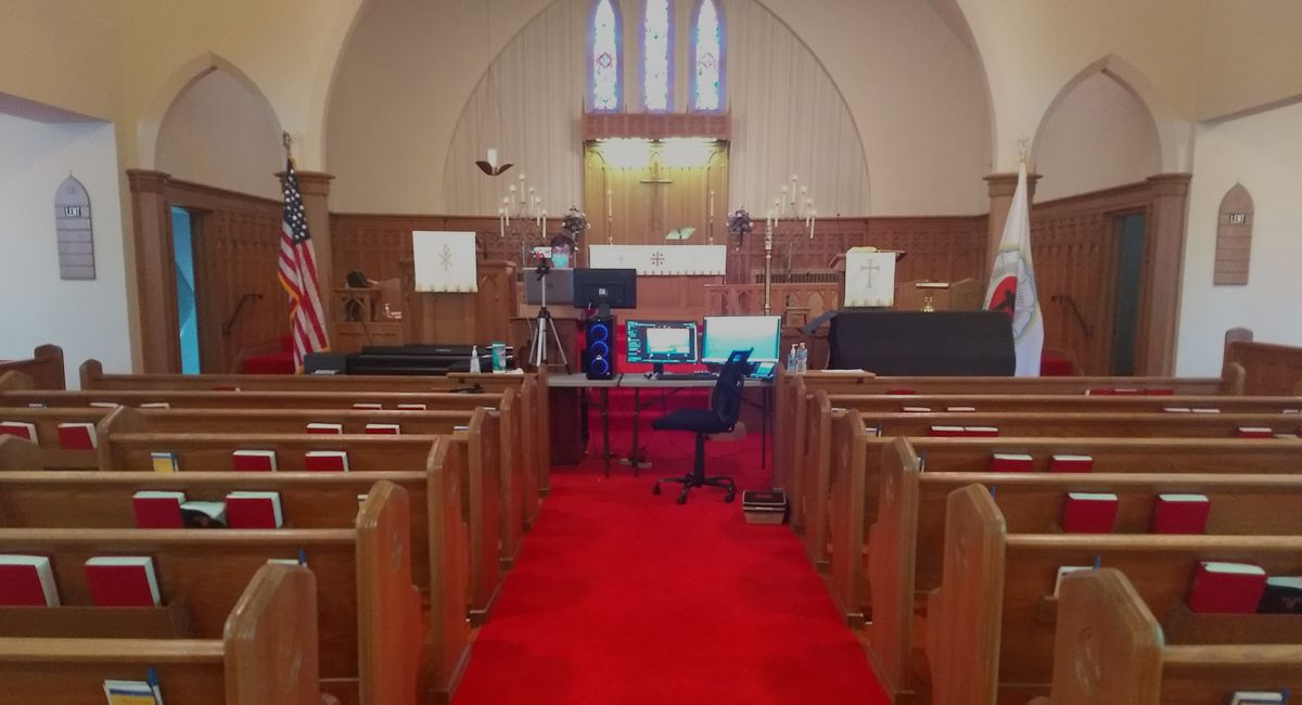 Worship in the Sanctuary and On-Line