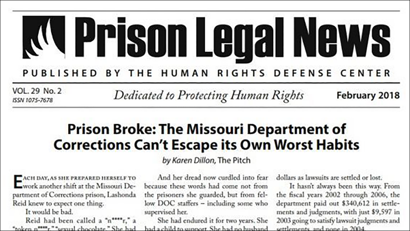 Lawsuit Alleges Illinois Prisons Improperly Censored Criminal Justice Newsletter