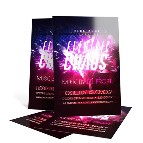 Color Brochures - 5 x 7
