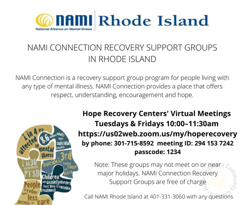 Hope Recovery - NAMI Connection