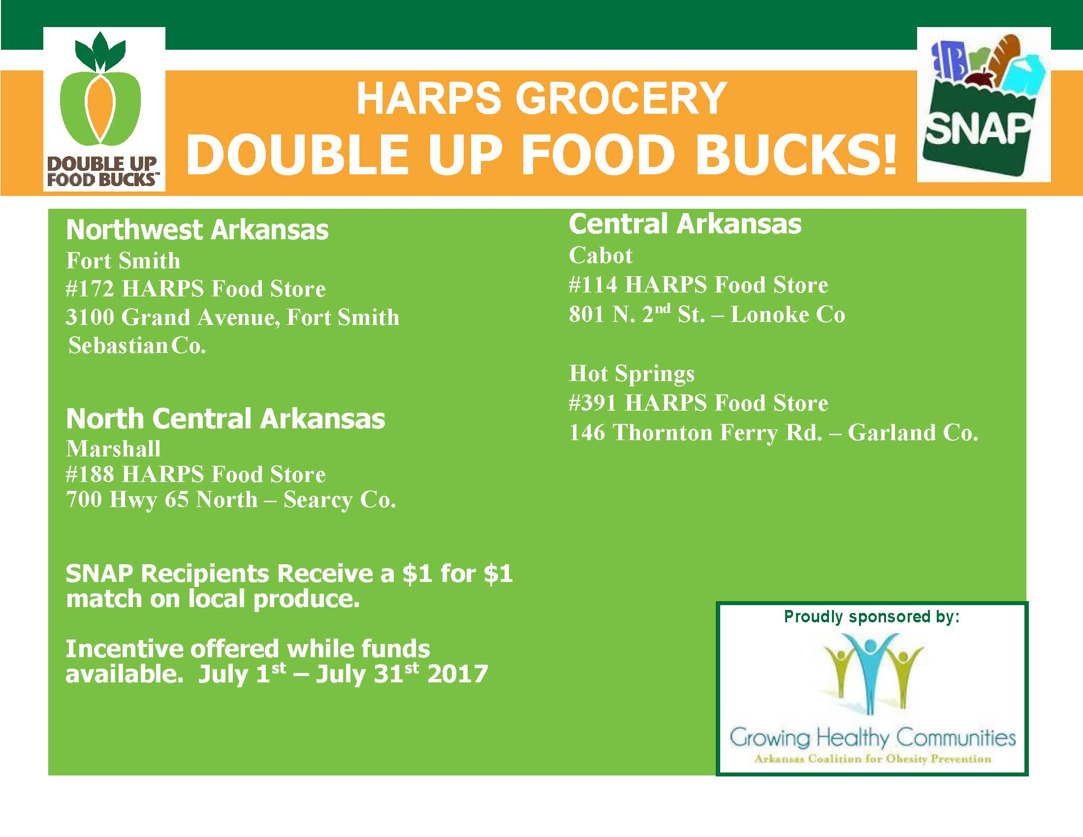 Harps Food Stores Hot Springs Ar