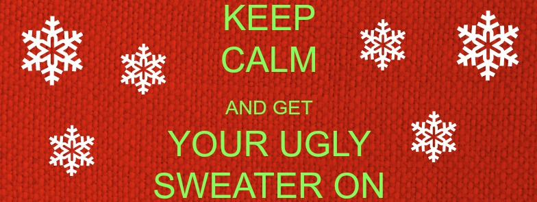 Join us 12/16 from 5-8 at Craft Kitchen and Brewery for an Ugly Sweater Party