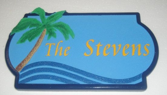 M1603 - Beach Cottage / Condo Name Sign (Gallery 20)