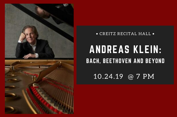 Andreas Klein: Bach, Beethoven and Beyond