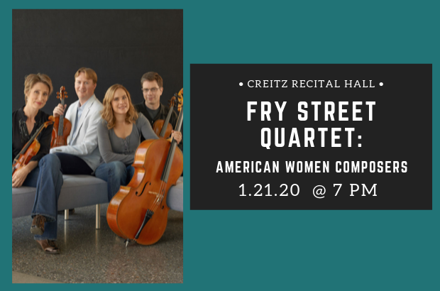 Fry Street Quartet: American Women Composers