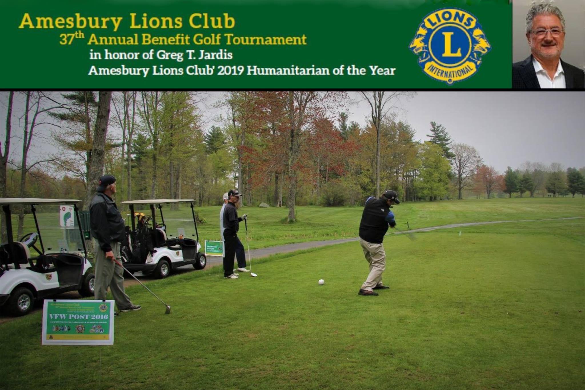 2019 Amesbury Lions Club Golf Tournament