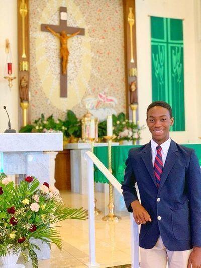 Joshua Joseph in church