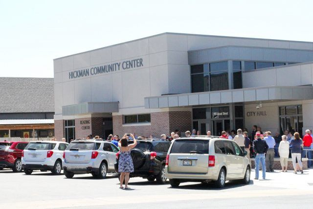 City of Hickman celebrates opening of new multi-use community center