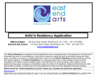 CLICK HERE to Download the Artist-in-Residence Application and Agreement