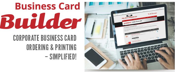OCP Business Card Builder