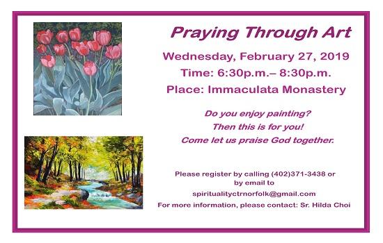 Praying Through Art!