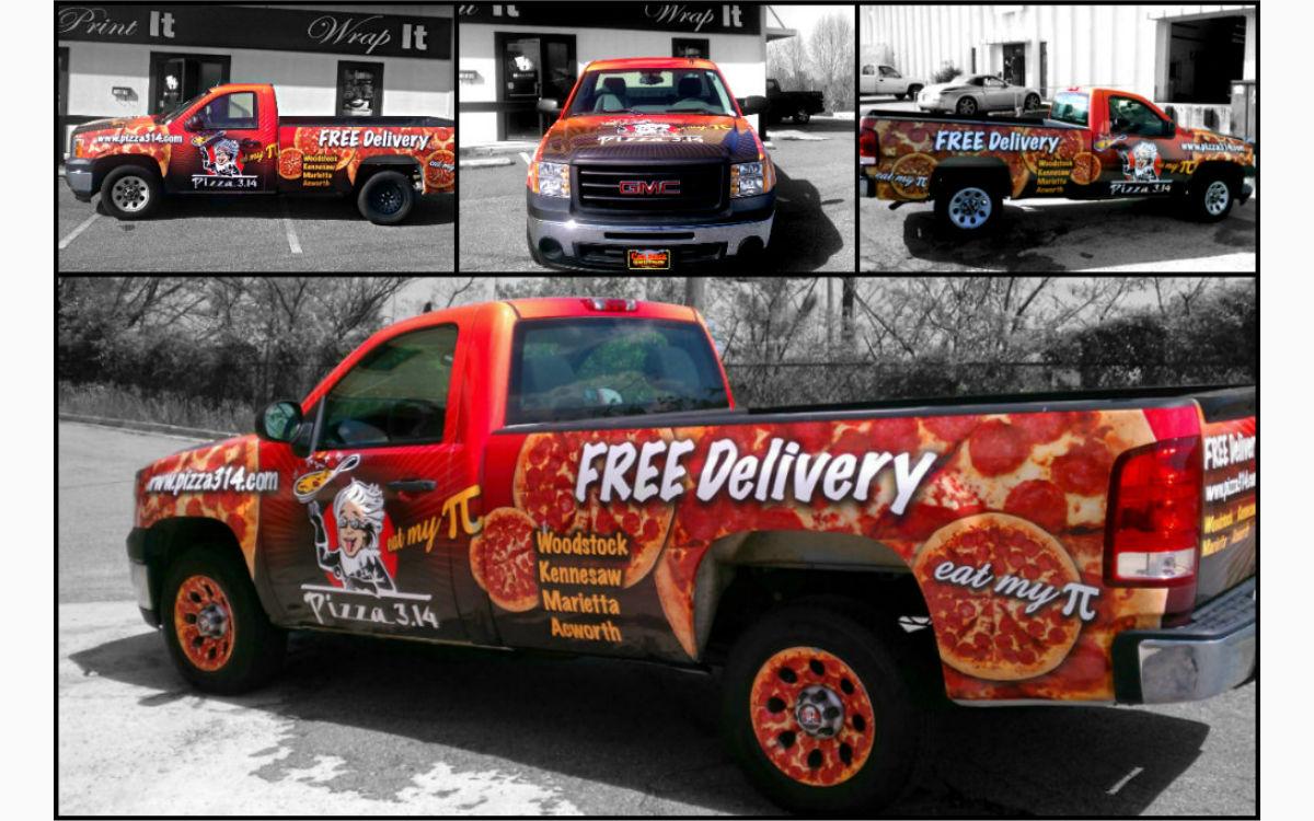 Pizza 3.14 Truck