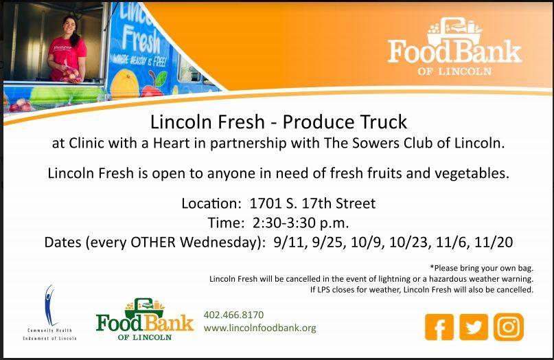 Lincoln Fresh -- Produce Truck