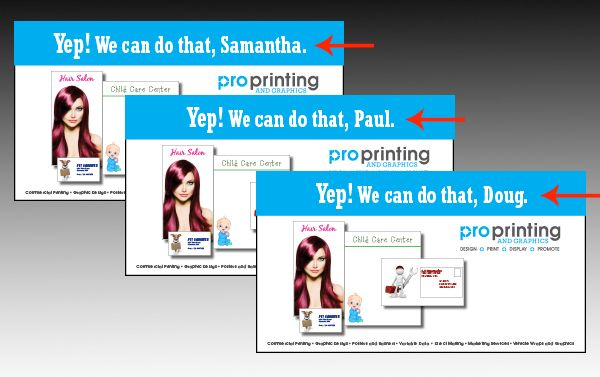 Get Personal With Variable Data Print