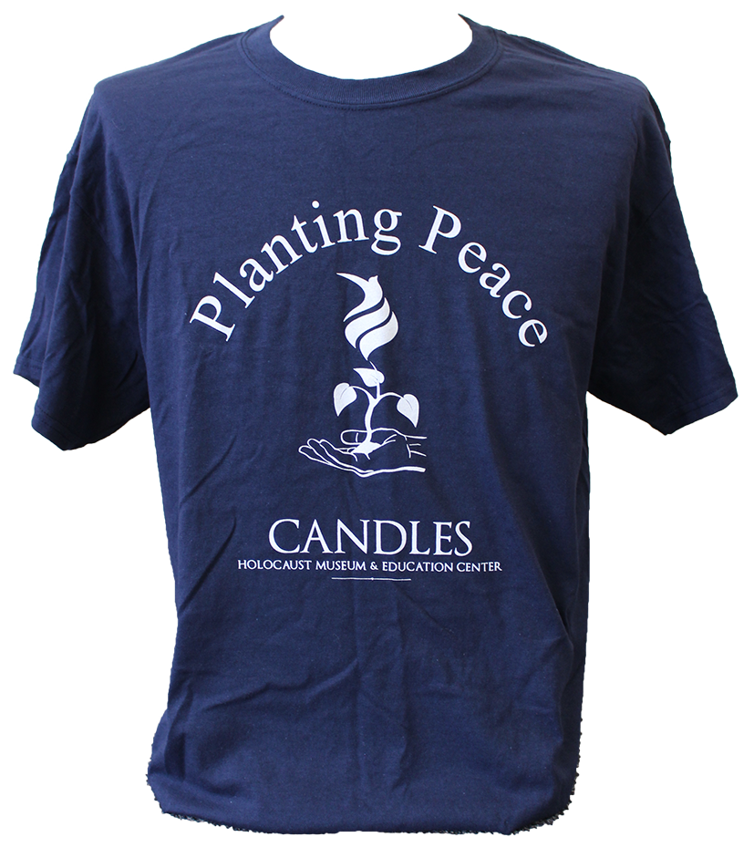 CANDLES Planting Peace Navy Blue (International Shipping)