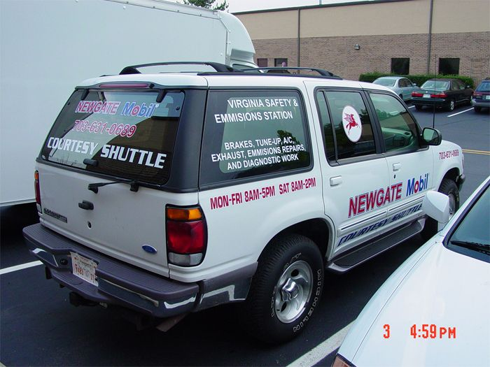 Newgate Mobil Truck Graphics