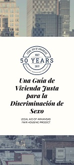 A Fair Housing Guide for Sex Discrimination (Spanish)
