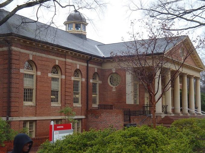 NC State Buiding 680 Leazar Hall