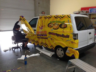 Best place for van wraps in Orange County