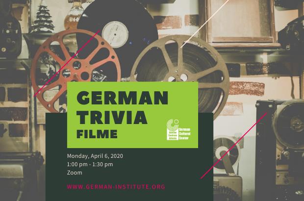 German Trivia - Filme