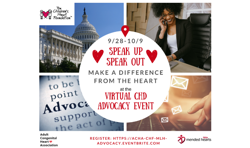 Virtual CHD Advocacy Event