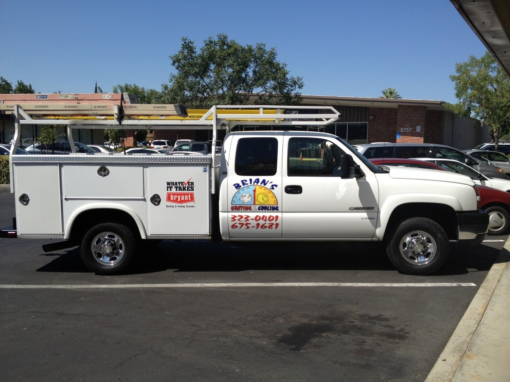 Brian's Heating & Air Truck