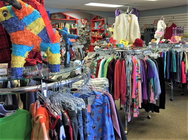 Large Children's Clothing Area