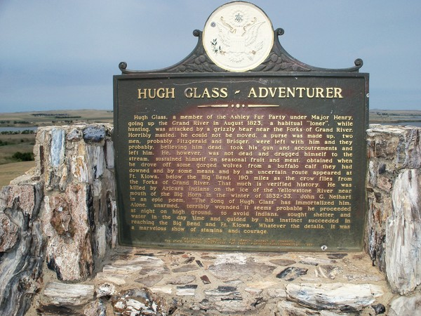 September 2012- The Saga of Hugh Glass