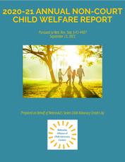 2020-2021 ANNUAL NON-COURT CHILD WELFARE REPORT