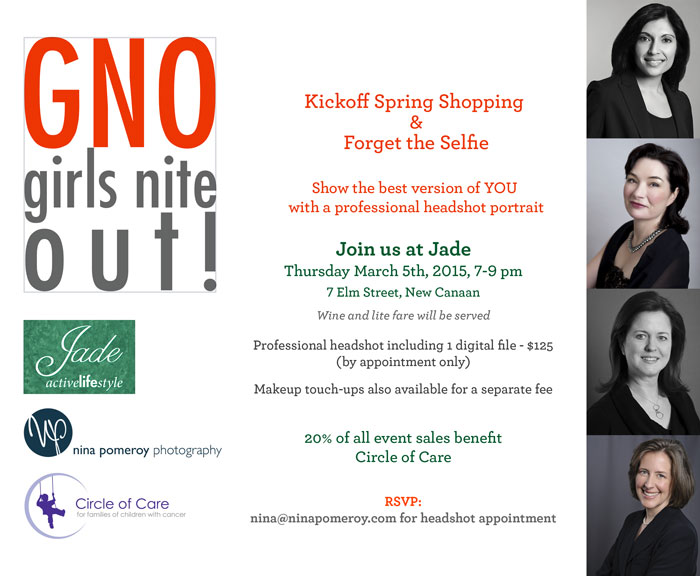 Girls Night Out: March 5th in New Canaan