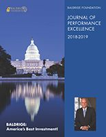 2018-2019 Journal of Performance Excellence