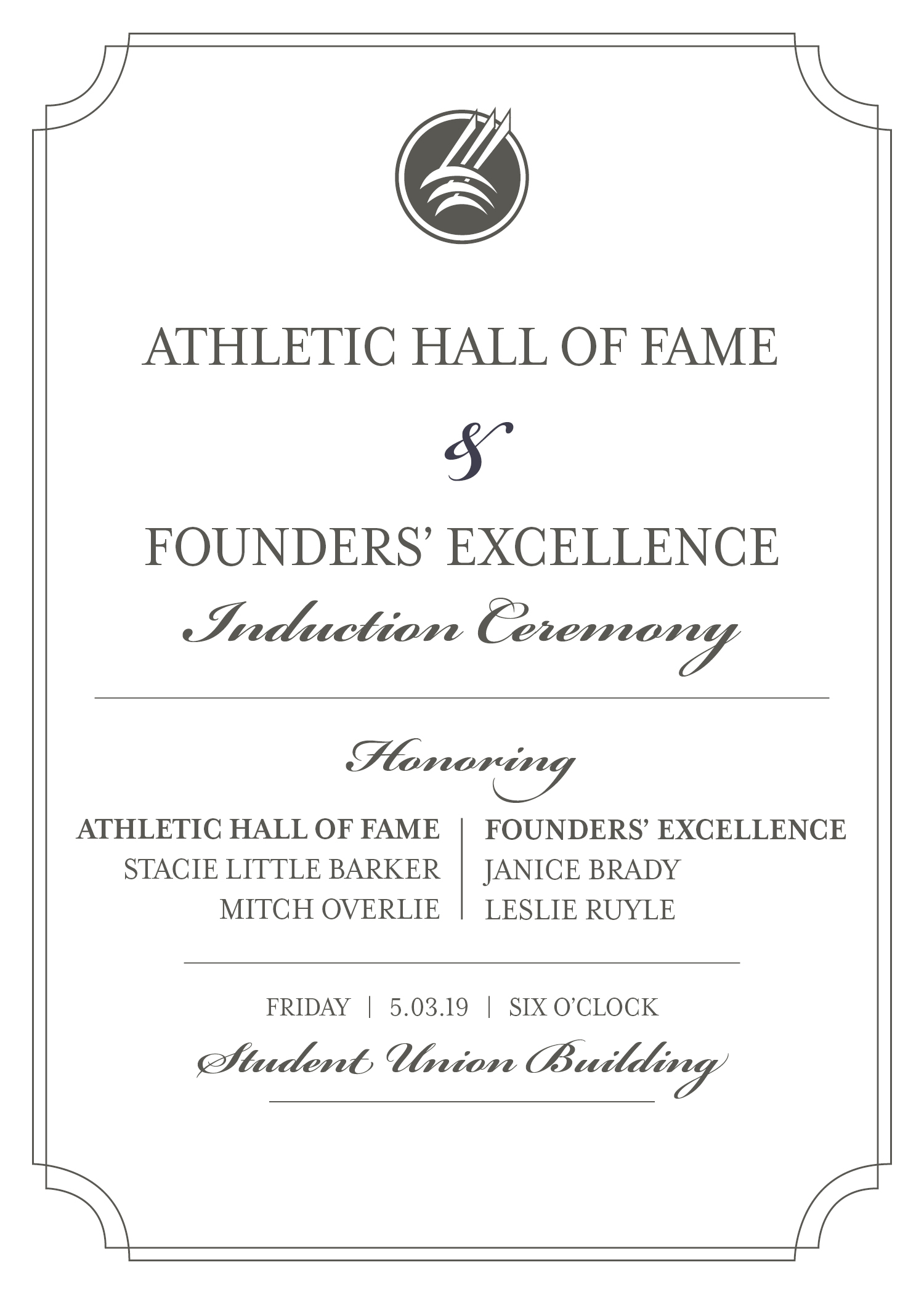 Founders' Excellence and Athletic Hall of Fame