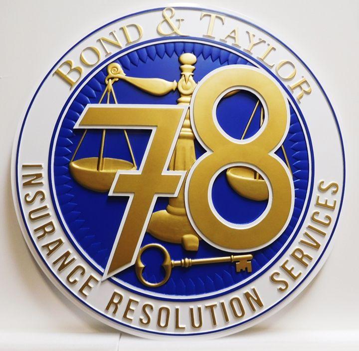 CC7225 -  Bond & Taylor Company Logo Plaque